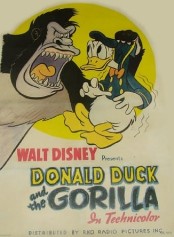 Poster of Donald Duck and the Gorilla