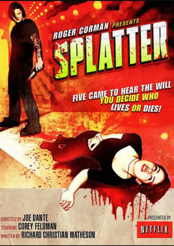 Poster of Splatter