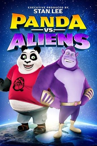 Poster of Panda vs. Aliens