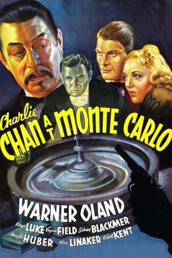 Poster of Charlie Chan at Monte Carlo