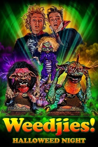 Poster of Weedjies: Halloweed Night