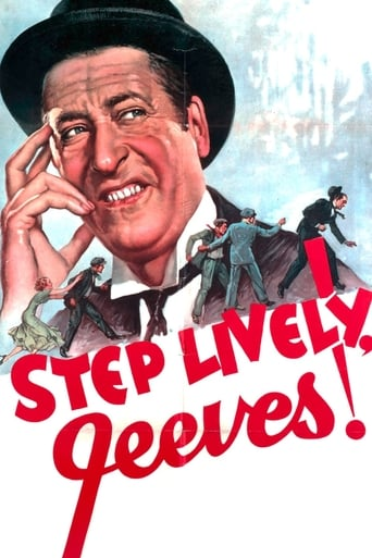 Poster of Step Lively, Jeeves!