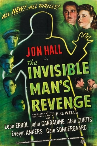 Poster of The Invisible Man's Revenge