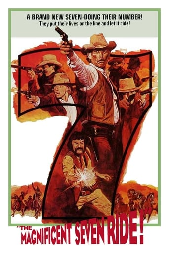 Poster of The Magnificent Seven Ride!