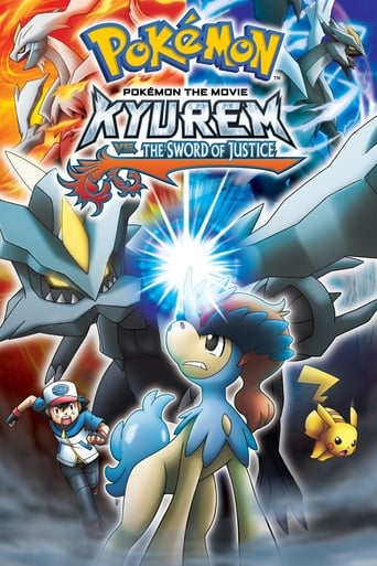 Poster of Pokémon the Movie: Kyurem vs. the Sword of Justice