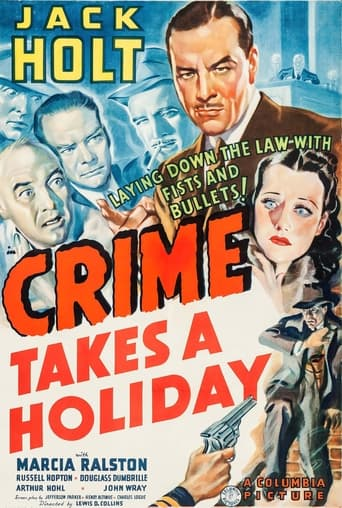 Poster of Crime Takes a Holiday