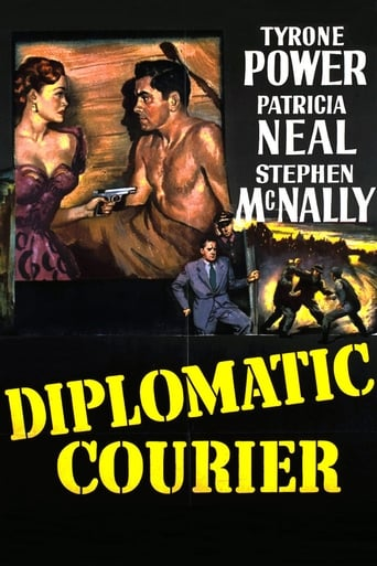 Poster of Diplomatic Courier