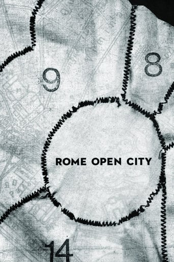 Poster of Rome, Open City