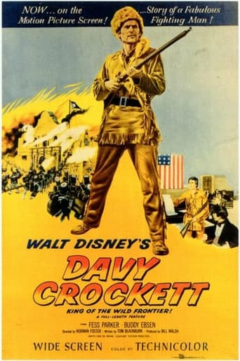Poster of Davy Crockett, King of the Wild Frontier