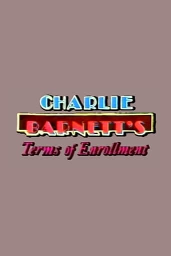 Poster of Charlie Barnett's Terms of Enrollment