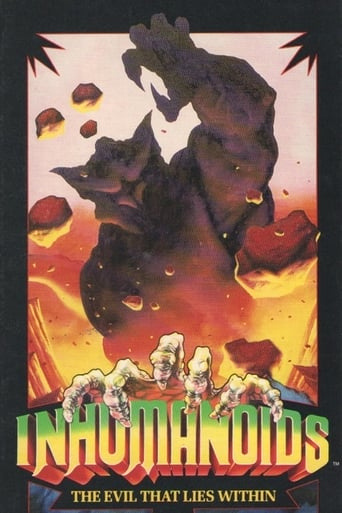 Poster of Inhumanoids: The Movie