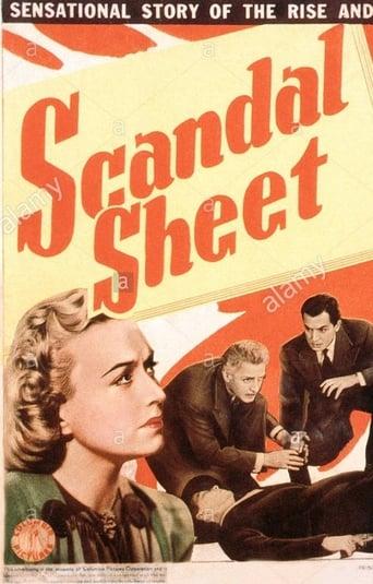 Poster of Scandal Sheet