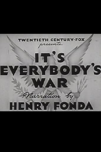 Poster of It's Everybody's War