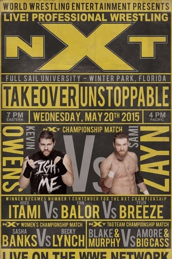 Poster of NXT TakeOver: Unstoppable