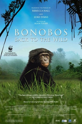 Poster of Bonobos: Back to the Wild