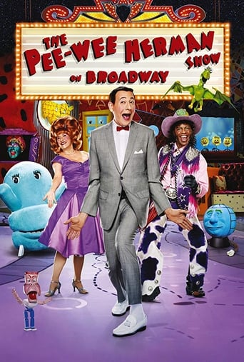 Poster of The Pee-Wee Herman Show on Broadway
