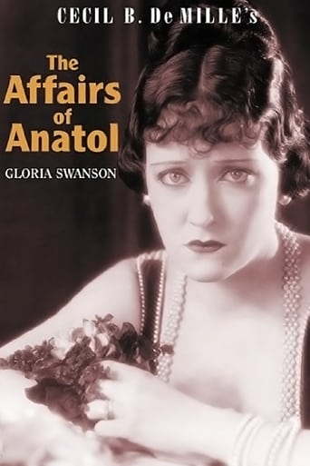 Poster of The Affairs of Anatol