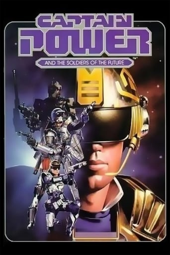 Poster of Captain Power and the Soldiers of the Future