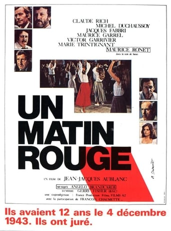 Poster of Un matin rouge