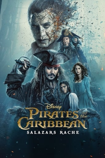 Poster of Pirates of the Caribbean: Salazars Rache