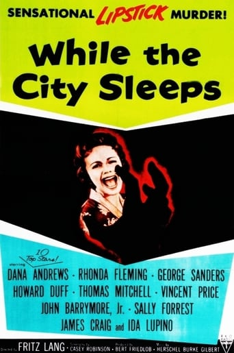 Poster of While the City Sleeps