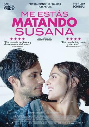 Poster of Me estás matando, Susana