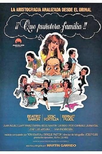 Poster of Qué puñetera familia