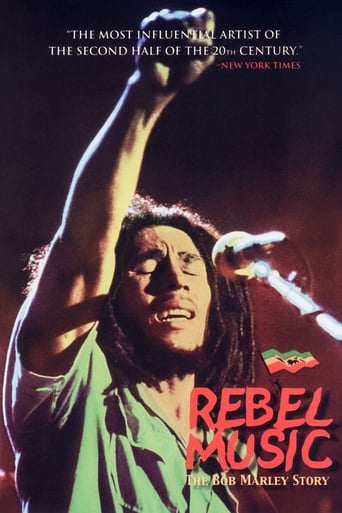 Poster of Rebel Music - The Bob Marley Story