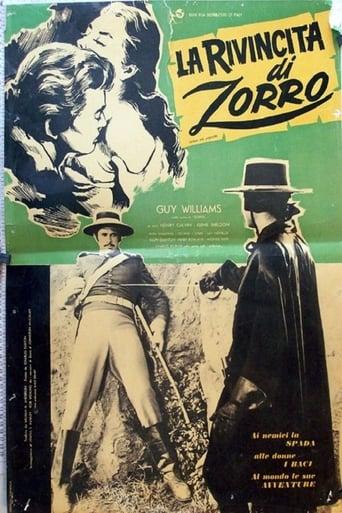 Poster of Zorro, the Avenger
