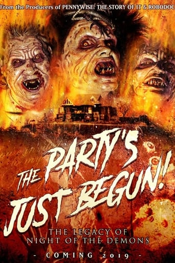 Poster of The Party's Just Begun: The Legacy of Night of The Demons
