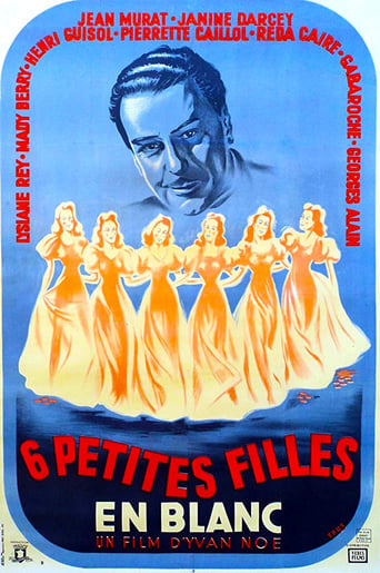 Poster of Six petites filles en blanc