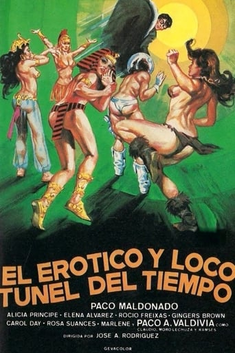 Poster of The Erotic and Wacky Tunnel of Time