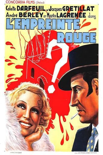Poster of L'empreinte rouge