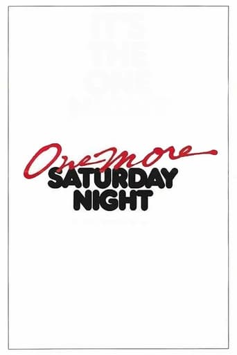 Poster of One More Saturday Night
