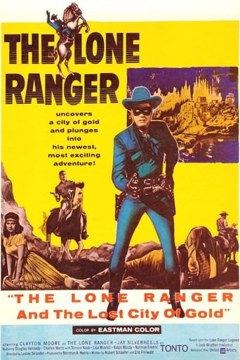 Poster of The Lone Ranger and the Lost City of Gold