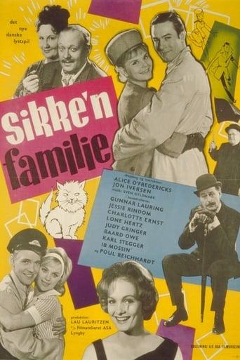 Poster of Sikke'n familie