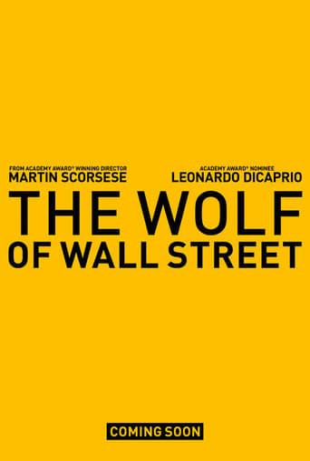 The Wolf of Wall Street - filmaffisch