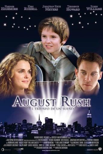 Poster of August Rush: El triunfo de un sueño