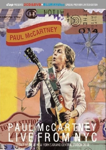 Paul McCartney: Live from NYC poster