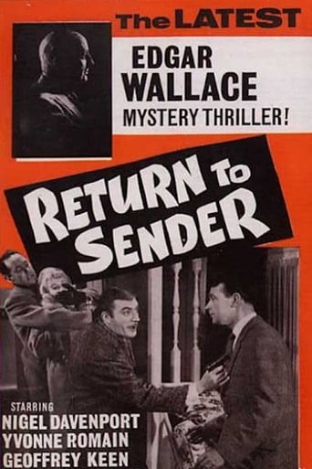 Poster of Return to Sender