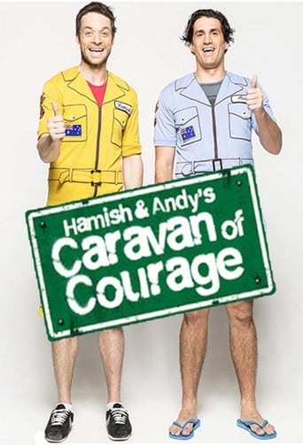 Poster of Hamish & Andy's Caravan of Courage