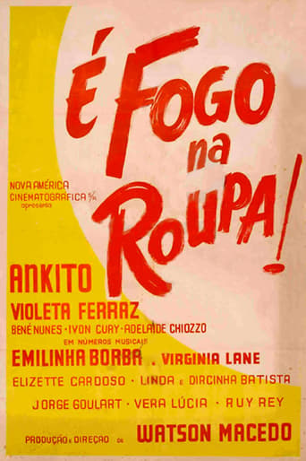 Poster of É Fogo na Roupa
