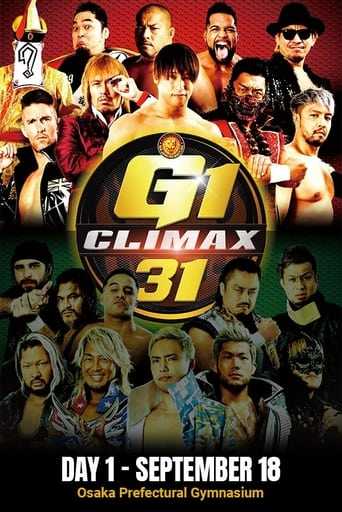 Poster of NJPW G1 Climax 31: Day 1