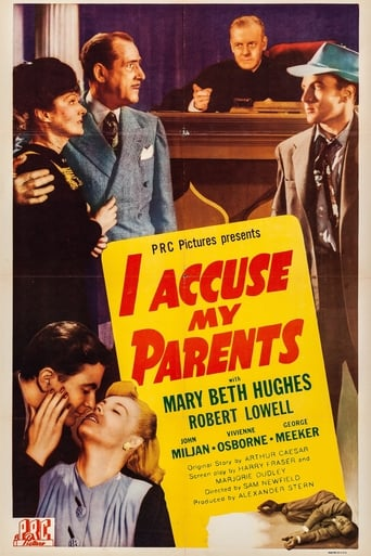 Poster of I Accuse My Parents