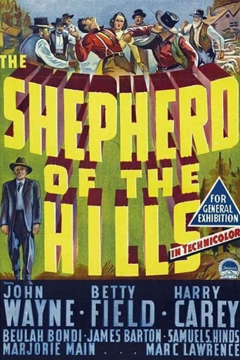Poster of The Shepherd of the Hills
