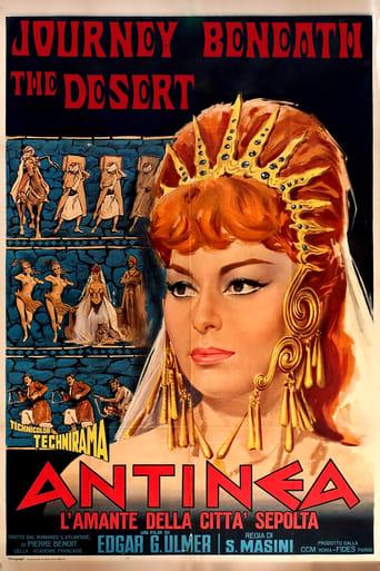 Poster of Antinea, l'amante della città sepolta