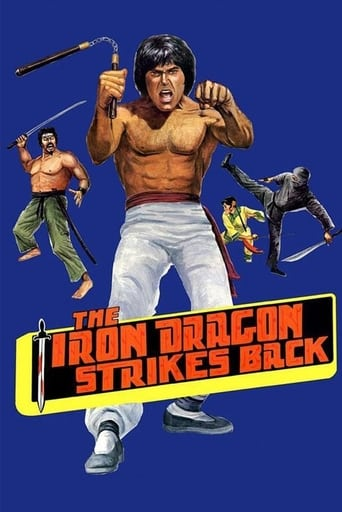 Poster of The Iron Dragon Strikes Back