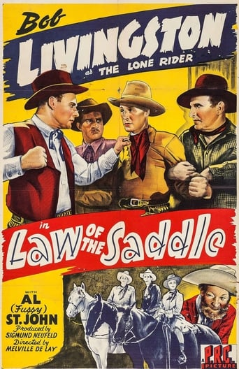 Poster of Law of the Saddle