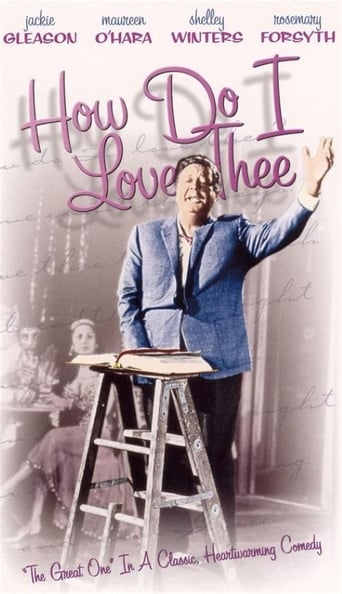 Poster of How Do I Love Thee?