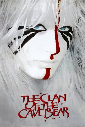 Poster of The Clan of the Cave Bear